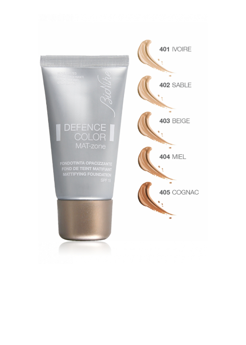 BIONIKE DEFENCE COLOR MAT ZONE MATTIFYING FOUNDATION 403